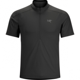 Arc'teryx Velox Zip-Neck Shirt – Short-Sleeve – Men's