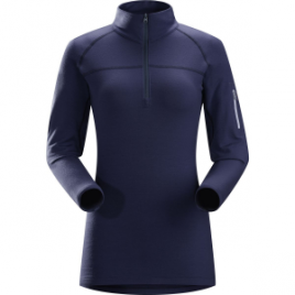 Arc'teryx RHO LTW Zip Neck Top – Women's