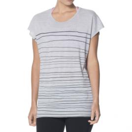 Icebreaker Aria Line Print Tunic – Short-Sleeve – Women's