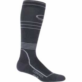 Icebreaker Hike Plus Light Cushion Compression Over The Calf Sock – Men's