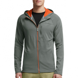 Icebreaker Sierra Fleece Hooded Jacket – Men's