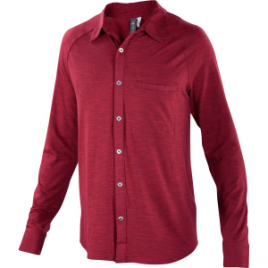 Ibex OD Heather Shirt – Long-Sleeve – Men's