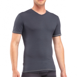 Icebreaker BodyFit 150-Ultralite Anatomica V-Neck Shirt – Short-Sleeve – Men's