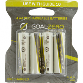 Goal Zero Rechargeable  Batteries for Guide 10 – 4-Pack
