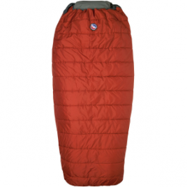 Big Agnes Buffalo Park Sleeping Bag: 40 Degree Synthetic