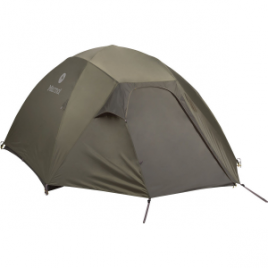 Marmot Limelight Tent with Footprint and Gear Loft: 4-Person 3-Season