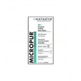 Katadyn Micropur Purification Tablets – 30-Pack