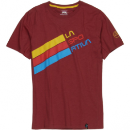 La Sportiva Stripe Logo T-Shirt – Short-Sleeve – Men's