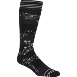Icebreaker Ultralight Vines Over The Calf Sock – Women's