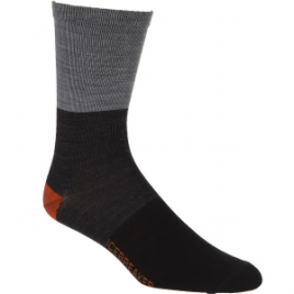 Icebreaker Ultralight Rugby Stripe Crew Sock