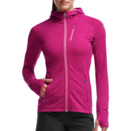 Icebreaker Quantum Full-Zip Hooded Jacket – Women's