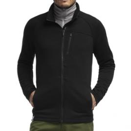 Icebreaker Sierra Fleece Jacket – Men's