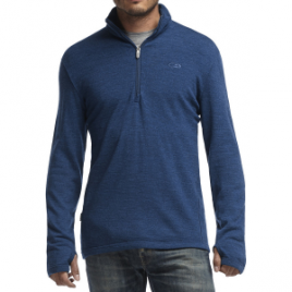Icebreaker Original Zip-Neck Sweater – Men's
