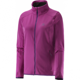Salomon Discovery Full Zip Midlayer – Women's