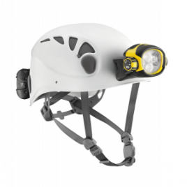 Petzl Trios Caving Helmet with Ultra Vario Headlamp