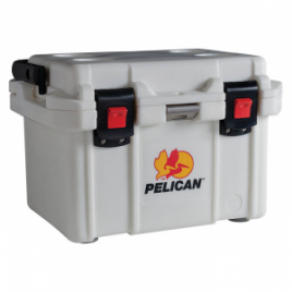 Pelican Elite Cooler 20 Qt White