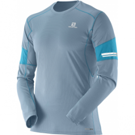 Salomon Agile Long Sleeve Tee – Men's
