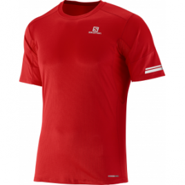 Salomon Agile Short Sleeve Tee – Men's