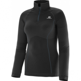 Salomon Exo Motion LS Zip Tee – Women's