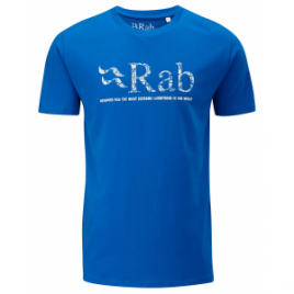 Rab Graphic T Map Logo – Men's