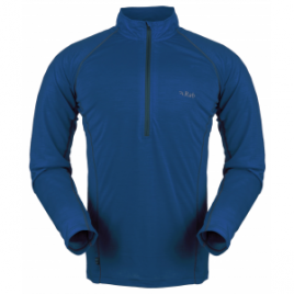 Rab MeCo 165 Long Sleeve Zip Tee – Men's