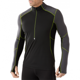 Smartwool PhD Wind Zip T Top – Men's