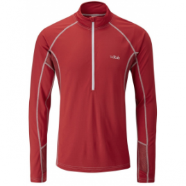 Rab Confluent Long Sleeve Zip Tee – Men's