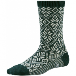 Smartwool Traditional Snowflake Medium Crew Sock – Women's