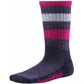 Smartwool Striped Hike Light Crew Sock – Kid's