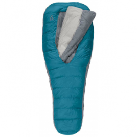 Sierra Designs Backcountry Bed Women's Sleeping Bag (800 Duck DriDown) 2 Season