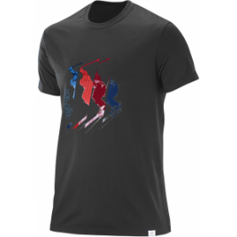 Salomon Jump Short Sleeve Blend Tee – Men's