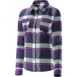 Salomon Mystic Flannel Long Sleeve Shirt – Women's