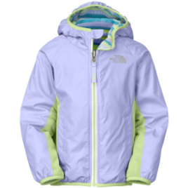 The North Face Grizzly Peak Reversible Lined Wind Jacket – Toddler Girls'