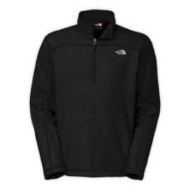 The North Face Texture Cap Rock Fleece Pullover – 1/4 Zip – Men's