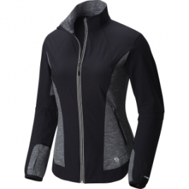 Mountain Hardwear Mighty Power Hybrid Softshell Jacket – Women's