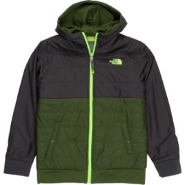 The North Face Reversible Quilted Surgent Full-Zip Hoodie – Boys'