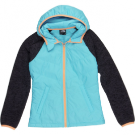The North Face Quilted Sweater Fleece Hoodie – Girls'
