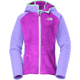 The North Face Chimboraza Hooded Fleece Jacket – Girls'