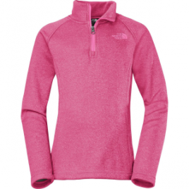 The North Face HW Agave 1/4-Zip Fleece Jacket – Girls'