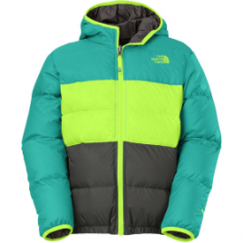 The North Face Moondoggy Reversible Down Jacket – Boys'