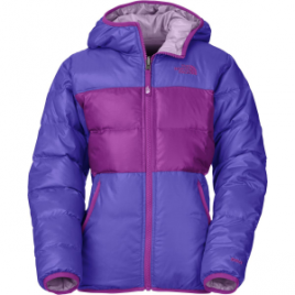 The North Face Moondoggy Reversible Down Jacket – Girls'