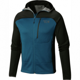 Mountain Hardwear Desna Hooded Grid Fleece – Men's