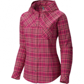 Mountain Hardwear Tahoma Hooded Flannel Shirt – Long-Sleeve – Women's