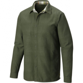 Mountain Hardwear Reversible Flannel Plaid Shirt – Long-Sleeve – Men's