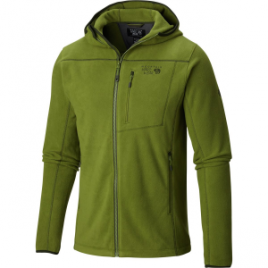 Mountain Hardwear Strecker Hooded Fleece Jacket – Men's