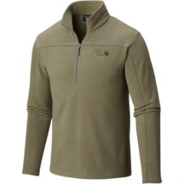 Mountain Hardwear Microchill Fleece Zip T Pullover – Men's