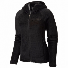 Mountain Hardwear Monkey Woman Grid II Hooded Fleece Jacket – Women's