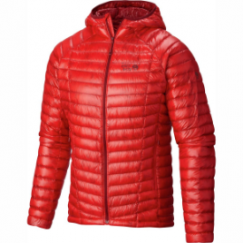 Mountain Hardwear Ghost Whisperer Hooded Down Jacket – Men's