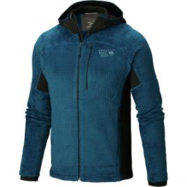 Mountain Hardwear Monkey Man Grid II Hooded Fleece Jacket – Men's