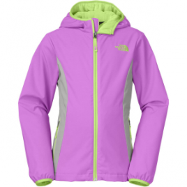 The North Face Mossbud Hooded Softshell Jacket – Girls'
